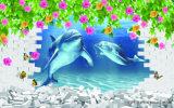 Океана всемирной цифровой печати картины маслом для дома украшения