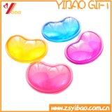 Personalizados promocionais Eco-Friendly Coração gel de silicone Mouse pad de repouso de Pulso