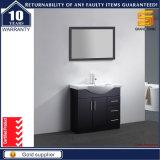 Unità nera del Governo di stanza da bagno della vernice brillante del MDF di alta qualità