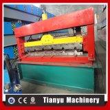 Metal colorido mosaico Painel de aço frio Máquinas Formadoras de Rolo