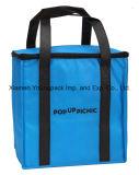 Custom grande isolation en polypropylène noir réutilisables Non-Woven Shopping sac fourre-tout