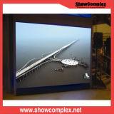 Écran visuel d'intérieur polychrome de P2.5 HD DEL pour fixe