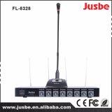 8 Draadloze Microfoon van het Systeem van het kanaal VHF de Professionele Correcte