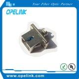 Fêmea ao adaptador de fibra óptica fêmea para o cabo de correção de programa da fibra