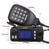 택시 송수신기 차 트럭 아마추어 무선 기사를 위한 외부 Mic를 가진 Mini Color Screen 쿼드 대기 쿼드 악대 이동할 수 있는 라디오 Lt 425UV