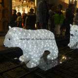 LEDの休日のモチーフライト冬くまLEDのクリスマスの照明