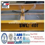 Swl 40t Semi-Automatic Container Spreader Container Lifting Frame