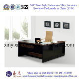 L 모양 (D1608#)를 가진 나무로 되는 사무용 가구 관리 사무소 테이블