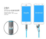 2 in 1 magnetischem USB-Kabel für Android und IOS