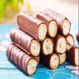 A melhor barra do cereal da maquinaria do revestimento do chocolate do preço Htl-T400/600/900/1200 que revista a linha doces reveeis chocolate que fazem a máquina