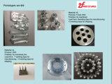Aleación de aluminio de acabado del polaco de la alta precisión 2017, Al6061, Al7075 piezas que trabajan a máquina, prototipos rápidos