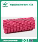 Rodillo hueco de la espuma del masaje del músculo del ejercicio de la red de Crossfit del rodillo de la yoga