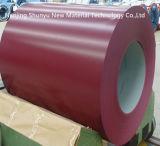 La couleur a enduit le constructeur en aluminium enduit d'une première couche de peinture de bobines d'acier inoxydable