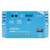 Epever 10A 12V/24V Solarcontroller/Regler mit USB-5V/1.2A Ls1024EU