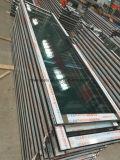 Ventana de aluminio del marco del grano de la rotura termal de madera popular euro del color