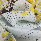 衣服のためのカスタムデジタルによって印刷される100%の絹のドビーの網軽くて柔らかいファブリック