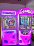 Máquina del premio de la máquina del regalo de la máquina de la diversión de la garra del juguete de los cabritos