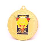 주물 금속 방아끈을%s 가진 운영하는 마라톤 메달