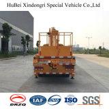 16m Dongeng Straight Arm Aerial Platform Truck tipo telescópico