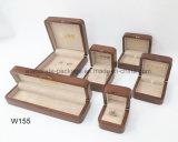 Caixa lustrosa de madeira luxuosa colorida do pacote da coleção