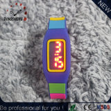 Wristwatch цифров браслета вахт силикона цветастый СИД (DC-2149)