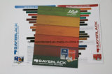 Impression sur offset Emulision Color Card for Advertising
