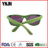 Ynjn teñir la madera verde bambú gafas de sol