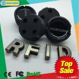de wormMarkering van de Markering RFID van de Bak van het Afval 13.56MHz BDE EM4305 RFID