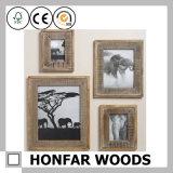 Personifizierter natürlicher festes Holz-Bilderrahmen für Dekoration