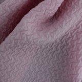 Prodotto intessuto molle Colourful chiaro di modo della piega del poliestere