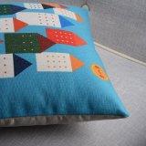 Stampa di tela del cotone cuscini del sofà da 18 pollici per lo strato