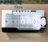 Vasca da bagno acrilica 2016 di massaggio degli articoli sanitari di Foshan Ningjie (3020)