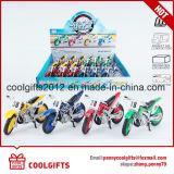 Il metallo sveglio del regalo dei bambini tir indietroare il piccolo modello del motociclo del giocattolo