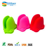 Guantes Titular de la categoría alimenticia de la rana del silicón material de los guantes forma de la nasa