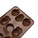 La FDA délivrent un certificat le moulage matériel de silicones de catégorie comestible, moulage orange de /Chocolate de moulage de pudding de silicones de forme de forme de /Grape formé par banane