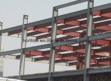 Disegno professionale della palestra della struttura d'acciaio