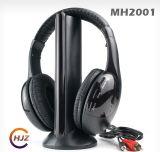 Casque sans fil 2.4G avec microphone