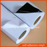 Vinil adesivo cinzento material do PVC