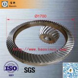 Large Spiral Bevel Gear de la plataforma petrolera Rotary Table
