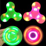 Leiden friemelen Plastic Spinner met Spreker Bluetooth