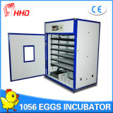Hhd 1000 계란 판매 Yzite-10를 위한 완전히 자동적인 닭 부화기