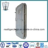 Porte étanche résistante de pression en acier pour des bateaux