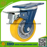 Industrial résistant Swivel Caster avec Double Brake