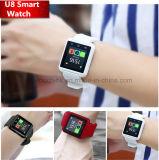 Neuestes Bluetooth intelligentes Uhr-Telefon mit mehrfacher Sprache und Funktionen U8
