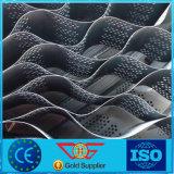 HDPE Geocell van de Las van de Stabilisatie van het Grint van de Bescherming van de helling Plastic