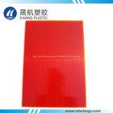 6 цветов замороженного листа толя полости поликарбоната PC