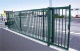 Porte décorative de fer de grille de glissement de jardin de fer de Wrough d'entrée de Drivern de moteur