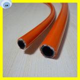 Fibre synthétique résine tressée flexible en caoutchouc