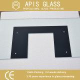 Reichweiten-Hauben-Noten-ausgeglichenes Glas mit Funktions-Tasten-Entwurf