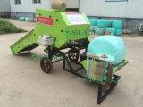 インドのための小型の円形のベールラッパーのサイレージの梱包機